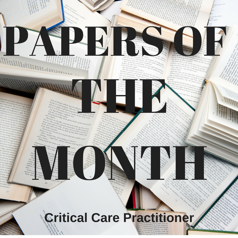 Papers of the month